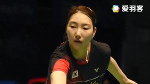 成池铉VS金达汶 2016中国公开赛 女单1/16决赛明仕亚洲官网