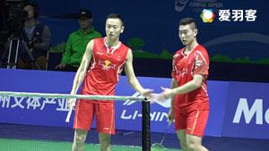 鲍伊/摩根森VS张楠/刘成 2016中国公开赛 男双半决赛视频