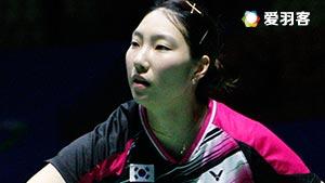 辛德胡VS成池铉 2016中国公开赛 女单半决赛明仕亚洲官网