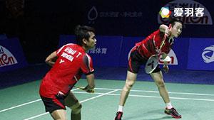 刘成/李茵辉VS艾哈迈德/纳西尔 2016香港公开赛 混双1/4决赛视频