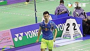 黄宇翔VS穆斯托法 2016香港公开赛 男单1/16决赛视频
