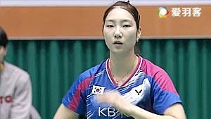 成池铉VS李蔷美 2016韩国大师赛 女单决赛视频