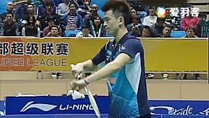 王斯杰/郑思维VS刘成/刘小龙 2017中国羽超联赛 混合团体小组赛视频