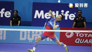 安赛龙VS李宗伟 2016世界羽联总决赛 男单小组赛视频