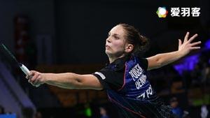 波尔森VS朱莉 F.I. 2016苏格兰公开赛 女单半决赛视频
