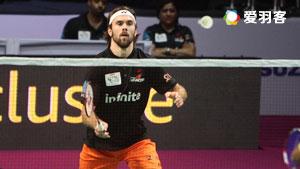 斯里坎特VS约根森 2017印度超级联赛 混合团体小组赛明仕亚洲官网