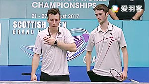 克里斯蒂安森/大卫VS亚当/米尔斯 2016苏格兰公开赛 男双决赛视频