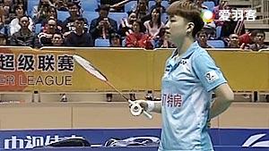 黄东萍/李茵晖VS包宜鑫/夏欢 2017中国羽超联赛 混合团体小组赛视频