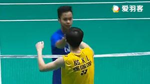 伍家朗VS金廷 2017马来西亚大师赛 男单半决赛明仕亚洲官网