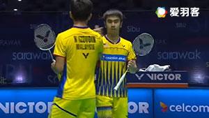 吴思飞/伊祖丁VS古纳万/基多 2017马来西亚大师赛 男双半决赛视频