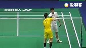 李子嘉VS坦农萨克 2017泰国大师赛 男单1/4决赛视频