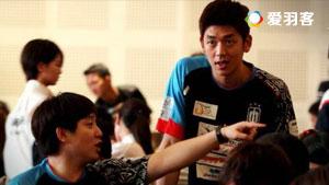 金沙朗/李龙大VS冢本白鸟/大岛和明 2017印尼羽毛球联赛 男团小组赛视频
