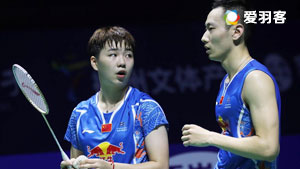 张楠/李茵晖VS夏勒/席琳 2017瑞士公开赛 混双1/16决赛视频