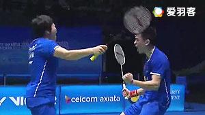 郑思维/陈清晨VS鲁恺/黄雅琼 2017马来公开赛 混双决赛视频