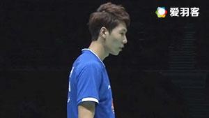 李俊慧/刘雨辰VS嘉村健士/园田启悟 2017亚锦赛 男双半决赛视频