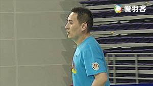 王铮/任堃VS王亮/刘伟 2017双雄会混合团体赛 男双1/4决赛视频