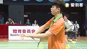 庞立仁VS邓凯杰 2017全港运动会羽毛球赛 男单决赛视频