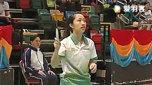 邓灏琳VS周肇筠 2017全港运动会羽毛球赛 女单决赛视频