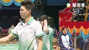 林镈沨/林雪庭VS梁晋希/何雪凝 2017全港运动会羽毛球赛 混双决赛视频