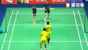 德差波尔/沙西丽VS拉姆斯富斯/赫特里克 2017泰国公开赛 混双1/4决赛视频