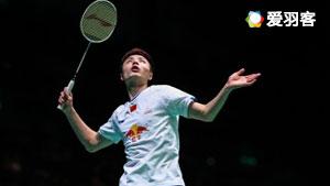 石宇奇VS李炫一 2017印尼公开赛 男单1/16决赛视频