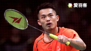 王子维VS林丹 2017印尼公开赛 男单1/16决赛视频