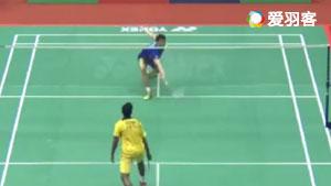 李子嘉VS西里尔·维尔马 2017中国台北大师赛 男单1/8决赛视频