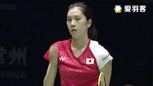 大堀彩VS李文珊 2017美国公开赛 女单决赛视频