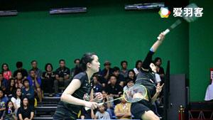 普缇塔/沙西丽VS基蒂塔拉库尔/拉温达 2017泰国全国锦标赛 女双决赛视频