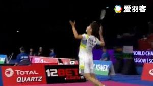 陈雨菲VS白驭珀 2017羽毛球世锦赛 女单1/16决赛视频