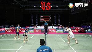 王懿律/黄东萍VS陈健铭/赖沛君 2017羽毛球世锦赛 混双1/8决赛明仕亚洲官网