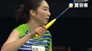 内维尔VS成池铉 2017羽毛球世锦赛 女单1/8决赛视频