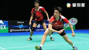 纳西尔/艾哈迈德VS王懿律/黄东萍 2017羽毛球世锦赛 混双1/4决赛视频