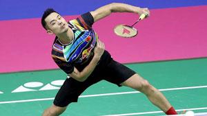 林丹VS黄永棋 2017羽毛球世锦赛 男单1/4决赛明仕亚洲官网