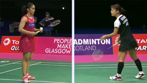 奥原希望VS内维尔 2017羽毛球世锦赛 女单半决赛视频