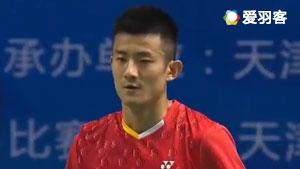 谌龙VS任朋嶓 2017全运会羽毛球 男团小组赛明仕亚洲官网
