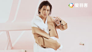 吴柳萤好久不见,变身时尚icon!