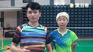 王晓理、杨晨教你双打吊球,就像抚摸爱人的脸庞!