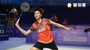 陈雨菲VS王适娴 2017全运会羽毛球 女单决赛视频