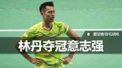 18天15场夺2冠1亚,林丹:希望打到东京奥运