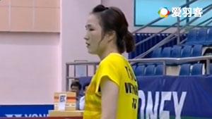 高桥沙也加VS武氏庄 2017越南公开赛 女单决赛视频