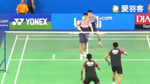 樊秋月/王昶VS阿德南/菲克里 2017世界青年羽毛球锦标赛 混合团体1/4决赛视频
