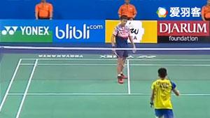 高政泽VS梁峻豪 2017世界青年羽毛球锦标赛 混合团体决赛视频