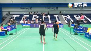 ??? ??????/??????? ??VS???? ?????/????????? 2017泰国羽毛球学院挑战赛 男双决赛视频