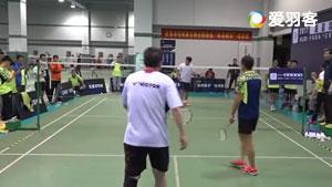赵剑华、杨阳与业余教练打友谊赛