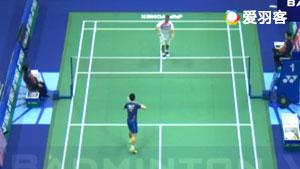 科希特VS黄宇翔 2017香港公开赛 男单1/16决赛视频