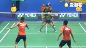费泽尔/维德佳佳VS尼迪蓬/基蒂塔拉库尔 2017香港公开赛 混双1/16决赛视频
