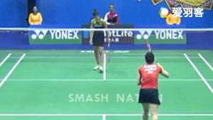 马琳VS三谷美菜津 2017香港公开赛 女单1/16决赛视频