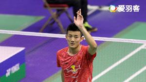 谌龙VS李东根 2017香港公开赛 男单1/4决赛明仕亚洲官网
