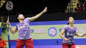 波莉/拉哈尤VS黄东萍/李汶妹 2017香港公开赛 女双半决赛视频